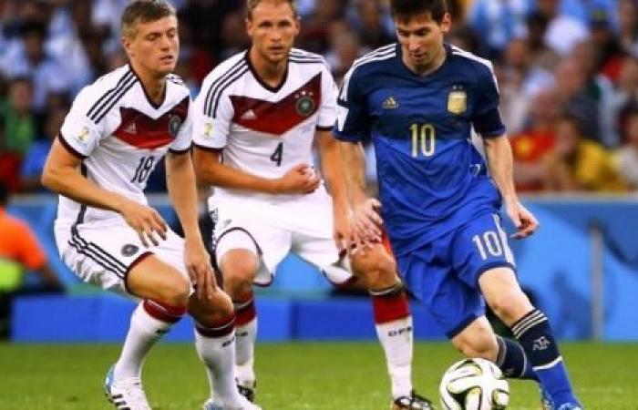 الوفد رياضة - موعد مباراة الأرجنتين وألمانيا اليوم والقنوات الناقلة موجز نيوز