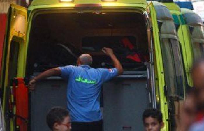 #اليوم السابع - #حوادث - اصابة 13 فى تصادم سيارتين بالطريق الدولى الساحلى  فى كفر الشيخ
