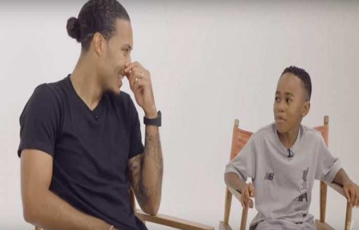 رياضة عالمية الخميس طفل يُحرج فان دايك: توقعت مقابلة صلاح بدلاً منك.. أنا مُحبط