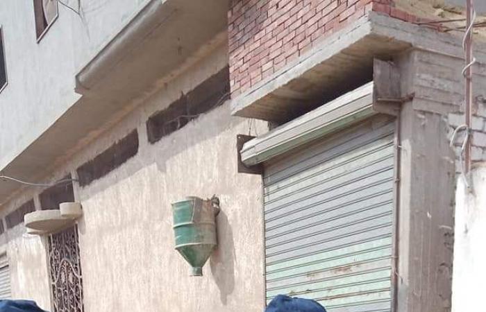 #اليوم السابع - #حوادث - مصرع شابين إثر انهيار جزء من صالون حلاقة بأولاد صقر بالشرقية.. صور