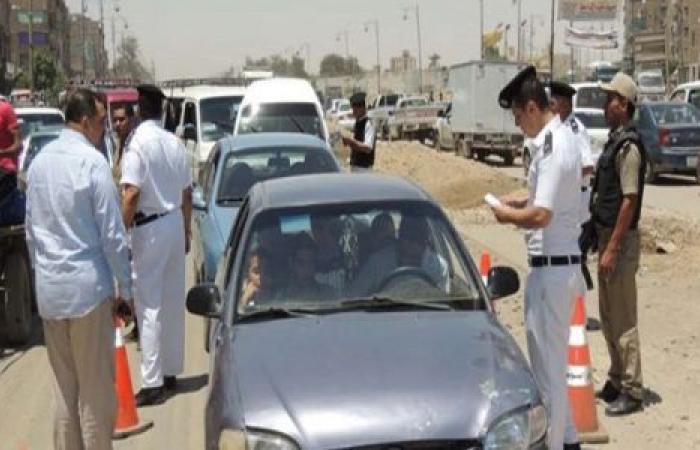 الوفد -الحوادث - تحرير 1381 مخالفة مرورية وضبط 239 هاربًا بالقليوبية موجز نيوز