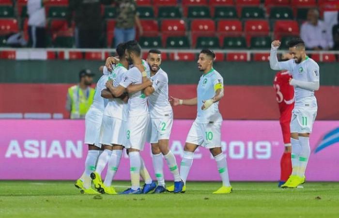 رياضه السعوديه الجمعة السعودية تهزم سنغافورة في تصفيات مونديال 2022 وكأس آسيا