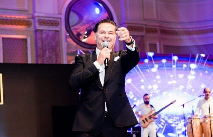 #اليوم السابع - #فن - صور.. راغب علامة يتألق فى حفل غنائى بأحد فنادق القاهرة