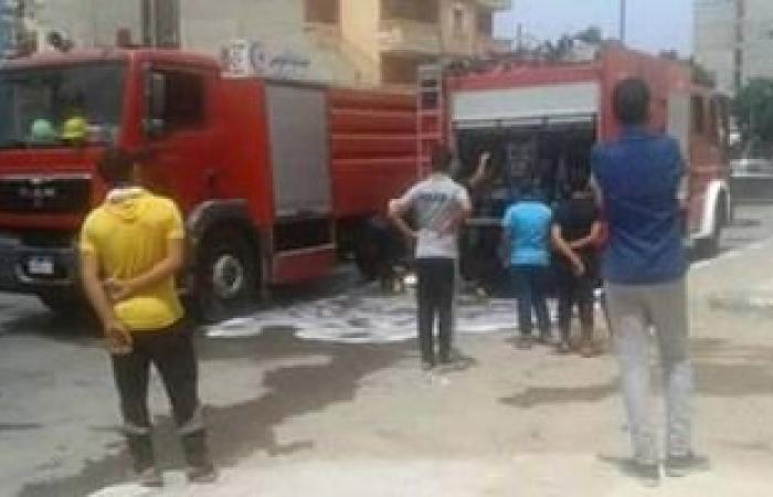 #اليوم السابع - #حوادث - السيطرة على حريق داخل شقة سكنية فى أرض اللواء دون إصابات