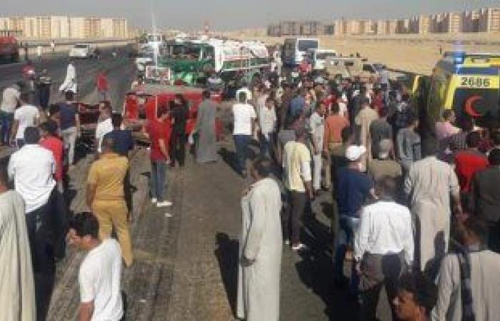 #اليوم السابع - #حوادث - مصرع رضيعة وإصابة 3 آخرين فى حادث تصادم ببنى سويف