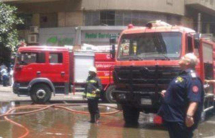 #اليوم السابع - #حوادث - السيطرة على حريق داخل شقة سكنية فى شبرا دون إصابات