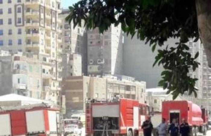 اخبار السياسه السيطرة على حريق بالمنطقة الصناعية في قويسنا