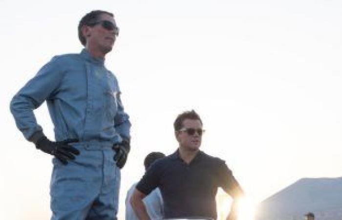 """#اليوم السابع - #فن - المنافسة مستمرة بين أبطال فيلم Ford v Ferrari """"من حلبة السباق للأوسكار"""""""