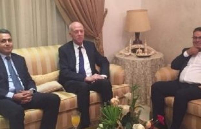 """اخبار السياسه المغزاوي يكشف لـ""""الوطن"""" تفاصيل لقاء رئيس تونس: أول اجتماع مع حزب سياسي"""