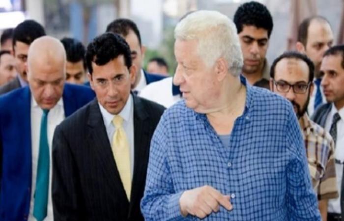 مرتضى منصور: الدولة انتصرت في أزمة الدوري