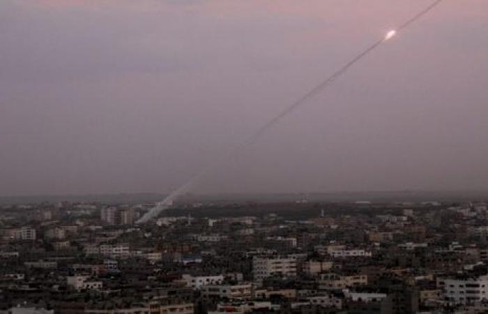 فيديو| إطلاق 7 صواريخ من غزة.. والاحتلال يعلن اعتراضهم