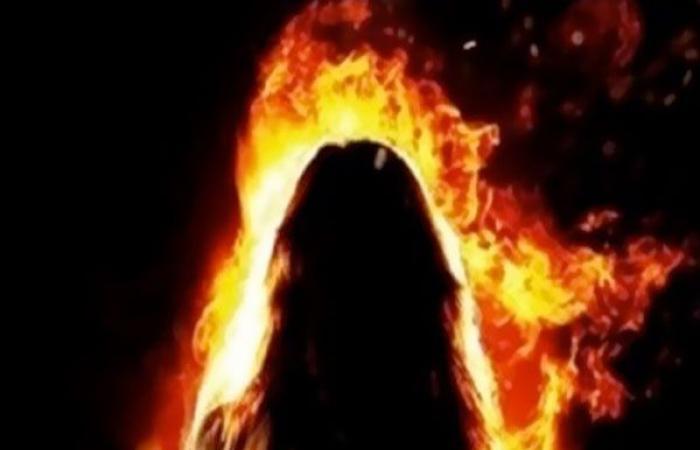 الوفد -الحوادث - تشاجر معها فأشعل بها النيران.. مقتل سيدة على يد زوجها بالغربية موجز نيوز