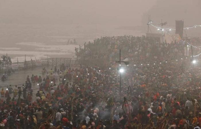 بالصور  نيودلهي «غرفة غاز».. مهرجان الأنوار رفع تلوث الهواء إلى أسوأ مستوياته