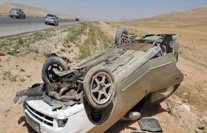 الوفد -الحوادث - مصرع شخص وإصابة 3 فى انقلاب سيارة بالسنطة موجز نيوز