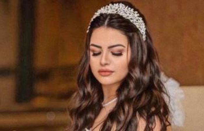 #اليوم السابع - #فن - هنادى مهنى بـ فستان زفاف أبيض في إحدى عروض الأزياء .. سعره 8 ملايين جنيه