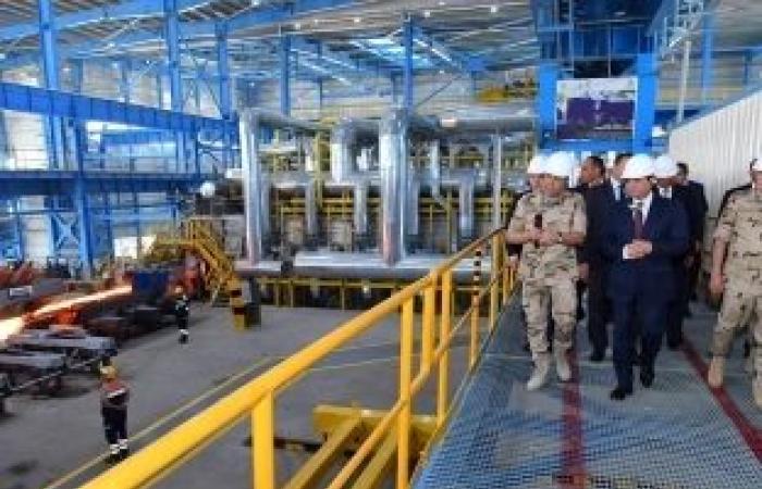 """اخبار السياسه """"السيسي"""": 800 مليار جنيه استثمارات في سيناء.. ومستعد لافتتاح مشروعات يوميا"""