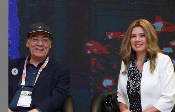 #اليوم السابع - #فن - هبة مجدى تشارك متابعيها بصور من مؤتمر مسرحية الملك لير بموسم الرياض