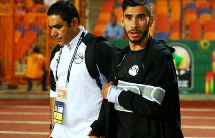 الوفد رياضة - رسميًا .. إصابة ناصر ماهر بخلع في الكتف موجز نيوز