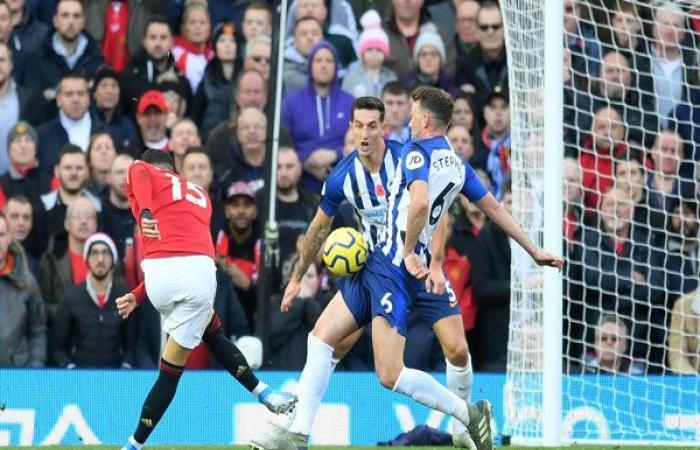 الوفد رياضة - فيديو..مانشستر يونايتد يضرب برايتون بهدفين في دقيقتين موجز نيوز