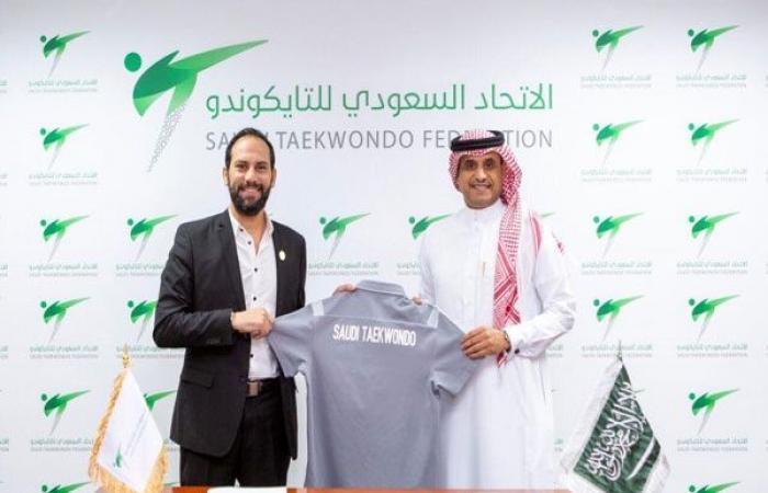 الوفد رياضة - محمود شلبي مديرا فنيا للمنتخب السعودي للتايكوندو موجز نيوز