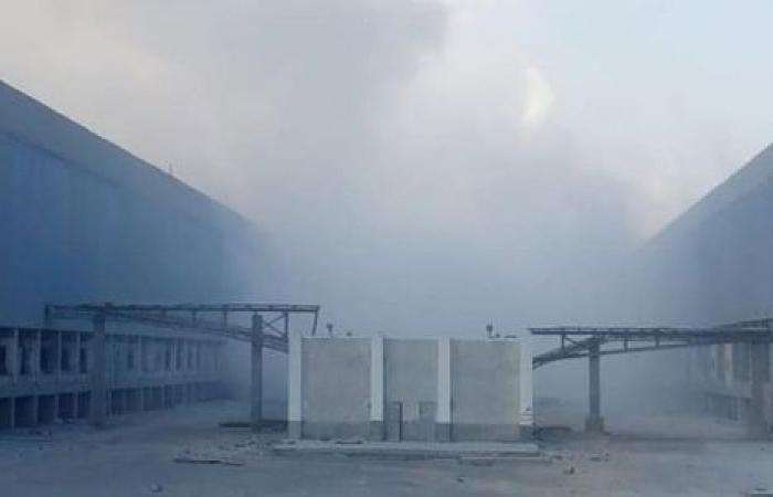 الوفد -الحوادث - عاجل.. اندلاع حريق في إحدى محطات الكهرباء بمجمع الألومنيوم بنجع حمادي موجز نيوز