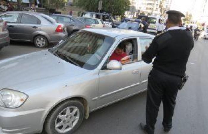 #اليوم السابع - #حوادث - تحرير 820 مخالفة مرورية وفحص 27 شخصا فى حملة مكبرة بالمنوفية