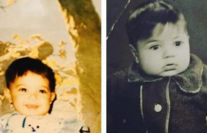 """#اليوم السابع - #فن - """"طول عمرى نسخه منك"""" .. إيمى طلعت زكريا تتذكر والدها بصورة فى طفولته"""