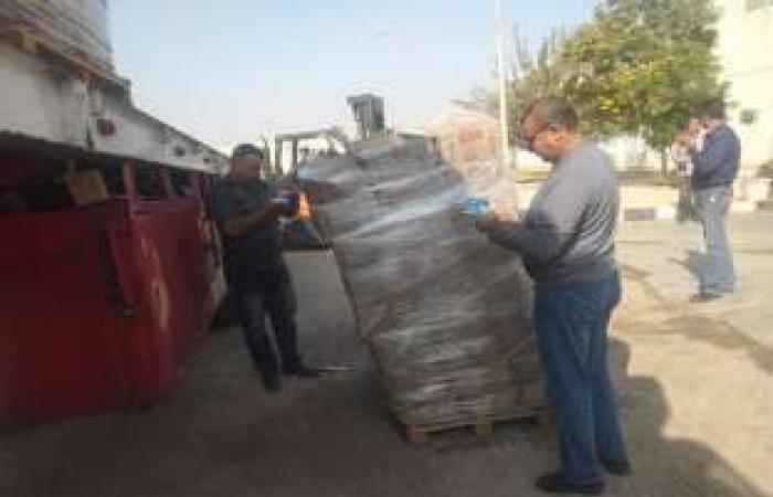 اخبار السياسه إعدام 113 طن ألبان منتهية الصلاحية في العاشر من رمضان