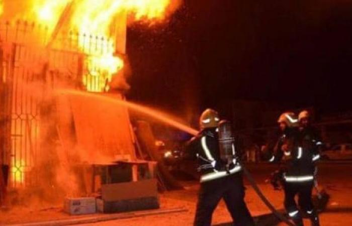 الوفد -الحوادث - نشوب حريق داخل مستشفى بني سويف الجامعي موجز نيوز