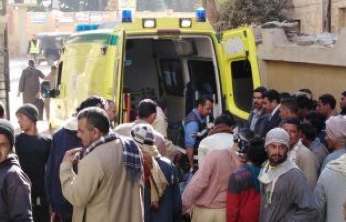 #اليوم السابع - #حوادث - إصابة 9 فى حادث انقلاب سيارة على الطريق الزراعى الغربى بسوهاج