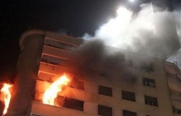 الوفد -الحوادث - حريق يلتهم منقولات شقة سكنية في جهينة موجز نيوز