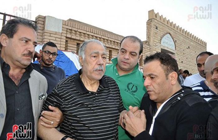 #اليوم السابع - #فن - شاهد آخر ظهور لوالد إيهاب توفيق فى عزاء زوجته