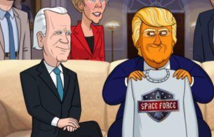 """#اليوم السابع - #فن - عودة الموسم الثالث من """"Our Cartoon President"""" فى 26 يناير المقبل"""