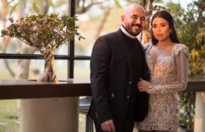 #اليوم السابع - #فن - محمود العسيلى ينشر صورة من حفل زفافه على خبيرة التجميل أمنية عبد المنعم