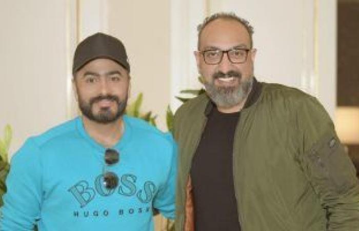 #اليوم السابع - #فن - فيديو وصور.. لحظة وصول تامر حسنى جدة واستقبال جمهوره قبل حفله