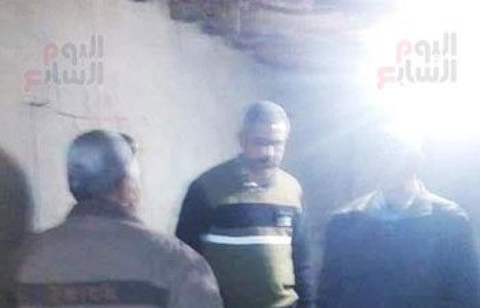 #اليوم السابع - #حوادث - ضبط صاحب منزل أثناء التنقيب عن الأثار بقرية أكياد دجوي بالقليوبية.. صور