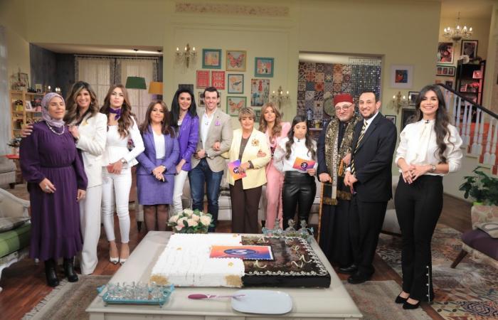 #اليوم السابع - #فن - صور.. DMC تحتفل بعيد ميلادها الثالث بحضور مذيعيها