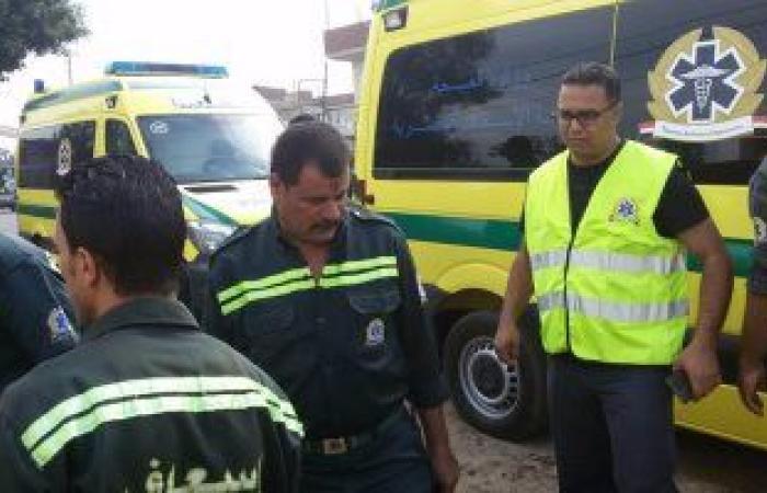 #اليوم السابع - #حوادث - إصابة 8 اشخاص في حادث تصادم سيارتين أعلى الدائرى الإقليمى بالجيزة