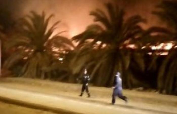 #اليوم السابع - #حوادث - ماس كهربائى بماكينة وراء حريق مصنع أخشاب بمدينة 6 أكتوبر