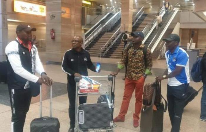 الوفد رياضة - شاهد.. وصول بعثة فريق مازيمبي الكونغولي استعدادًا لمواجهة الزمالك موجز نيوز