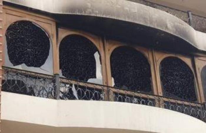 #اليوم السابع - #حوادث - السيطرة على حريق داخل شقة سكنية فى الأزبكية دون إصابات