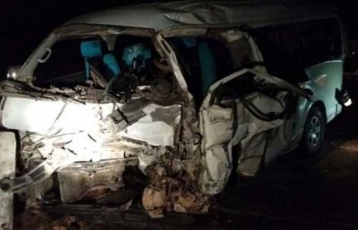 الوفد -الحوادث - إصابة 5 أشخاص في حادث تصادم بالقليوبية موجز نيوز