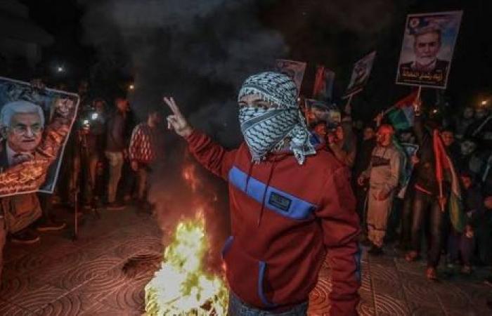 إصابة 10 فلسطينيين خلال احتجاجات بالضفة الغربية ضد «صفقة القرن»