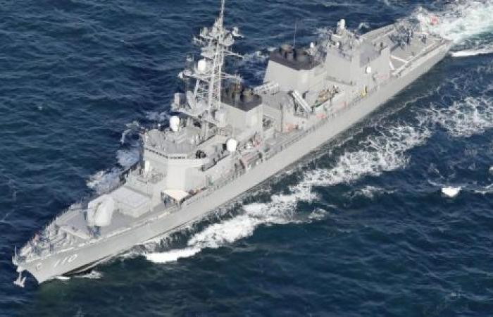 لهذا السبب.. مدمرة يابانية تبحر إلى خليج عمان