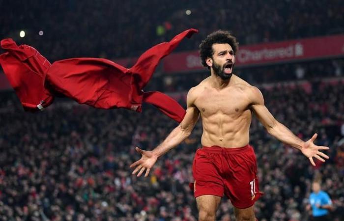 رياضة عالمية الجمعة صلاح يفوز بجائزة هدف الشهر في ليفربول