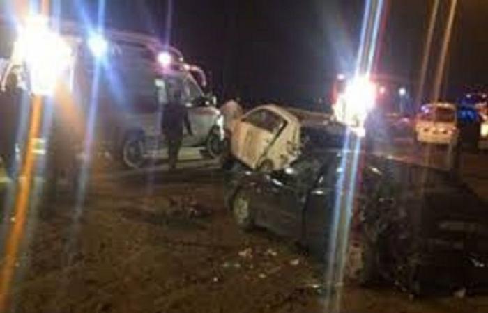 الوفد -الحوادث - إصابة ثلاث أشخاص من جنسيات مختلفة في حادث تصادم بأسوان موجز نيوز
