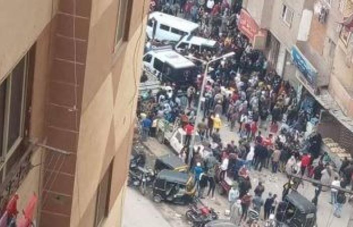 #اليوم السابع - #حوادث - النيابة تامر بتشريح جثة شاب قتل داخل سنترال بمنطقة فيصل