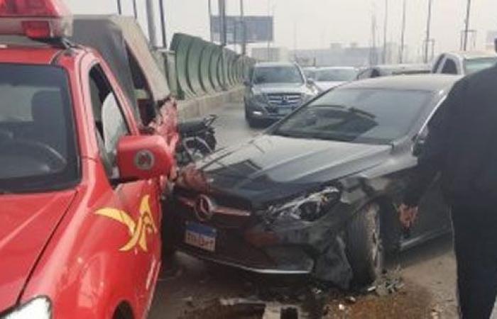 الوفد -الحوادث - مصرع 11 شخصًا وإصابة 10 آخرين في حادث مروع بالمنيا موجز نيوز