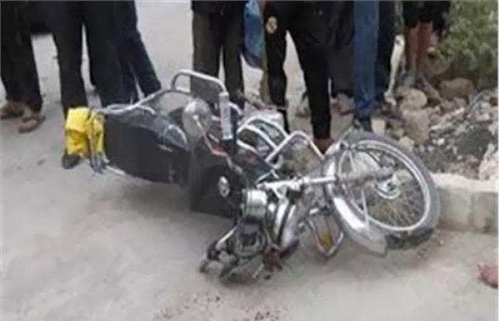 الوفد -الحوادث - إصابة 3 أشخاص إثر انقلاب موتوسيكيل بقنا موجز نيوز