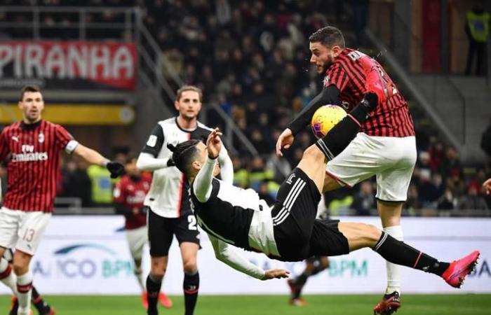 رياضة عالمية الجمعة رونالدو يقود يوفنتوس للتعادل مع ميلان في ذهاب نصف نهائي كأس إيطاليا